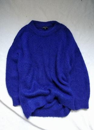 Мягкий уютный свитер пуловер оверсайз f&f