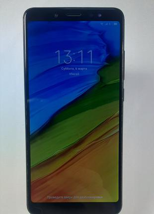 Смартфон Xiaomi Redmi Note 5 3/32GB Black Б/В.