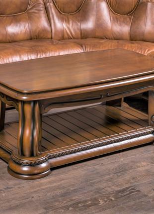 Деревянный журнальный стол Лорд