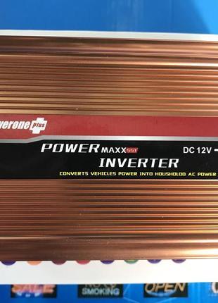 Инвертор Преобразователь напряжения С 12В-220В 500w