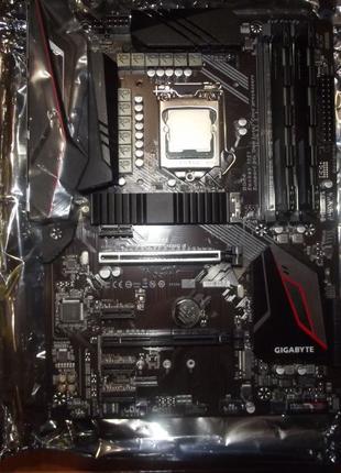Комплект i5-9600K/Gigabyte z390 Gaming X/16Гб 3200Мгц DDR4