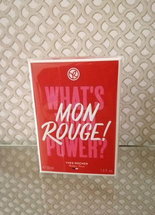 Парфюмированная вода Mon rouge yves Rocher 50мл