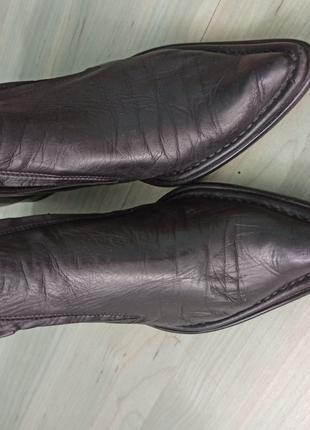Черевики Baldinini з натуральної шкіри 37 р. ( 24 см)