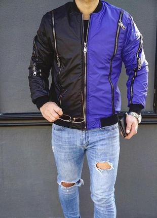 Мужская дизайнерская куртка бомбер