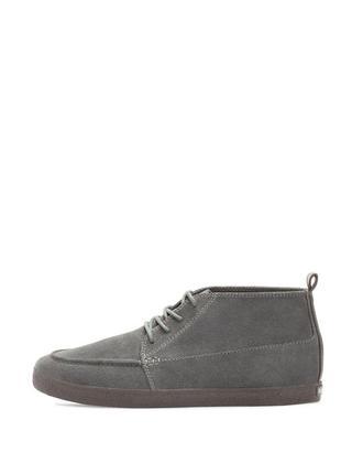 Замшевые серые мужские ботинки, полу ботинки 43-44 pull&bear...