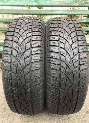 Шины 195/65 R15 зима Dunlop - SP Winter Sport 3D 6мм из Европы