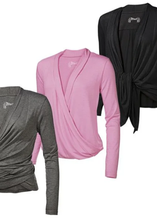 Блуза, кофта, для фитнеса, йоги, женская, crivit, ru50/eur44/l