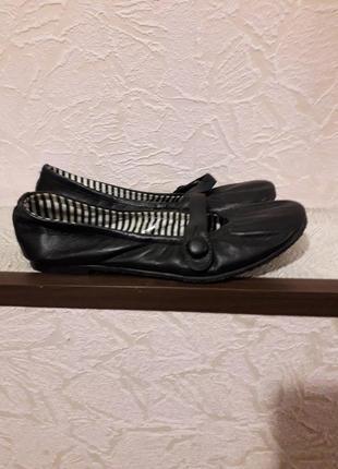 Leather collection детские черные мокасины туфли кожаные на де...