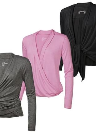 Блуза, кофта, для фитнеса, йоги, женская, crivit, ru42/eur36/s
