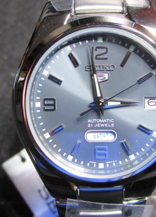Seiko 5 Automatic Japan часы механические мужские Новые!