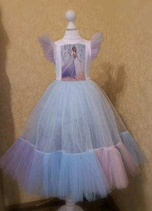 Платье Эльза Под заказ 5-8 дней