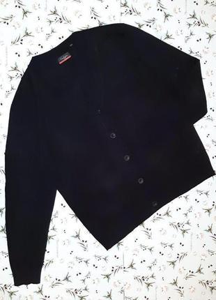 Крутой черный кардиган свитер pierre cardin оригинал, размер 5...