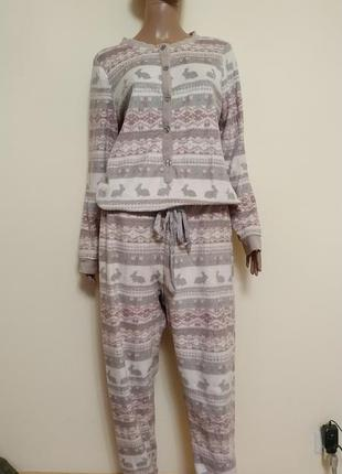 Комбинезон пижама женская
