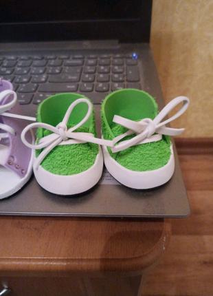 Обувь для интерьерной куколки и куклы беби Борна