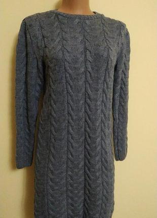 Платье женское вязание туника