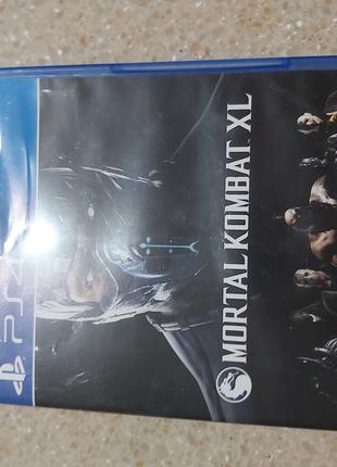 Игру на PS4 Mortal comdat 10