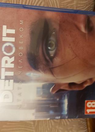 Игра на PS4 Detroit стать человеком
