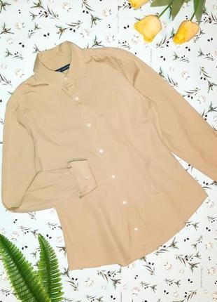 Фирменная горчичная блуза рубашка ralph lauren, размер 42 - 44