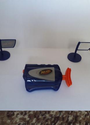 Водный мини бластер Nerf с мишенями