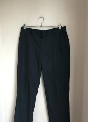 Классические штаны чёрные брюки мужские
