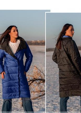 Весенняя двухсторонняя куртка пальто размеры 54-56 и 56-58    ...