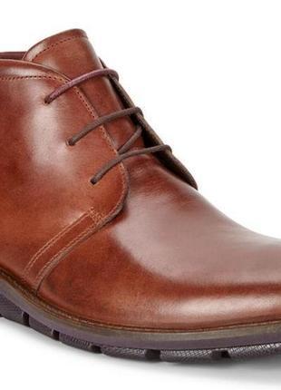 Ботинки ecco jeremy hybrid boot оригінал натуральна кожа нові