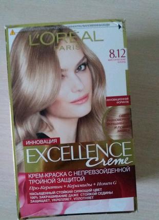 Краска для волос L'Oreal Paris Excellence тон 8.12 мистический бл