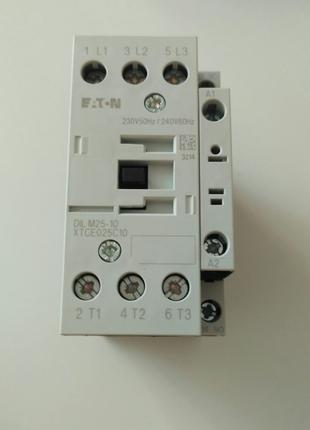 Контактор EATON DILM25-10 (230V50HZ)