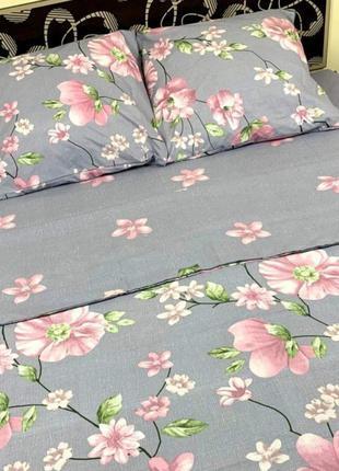 Постельное белье цветы