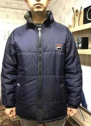 Куртка мужская зимняя  fila