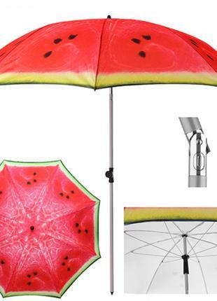 Зонт пляжный  d2м наклон MH-3371-6