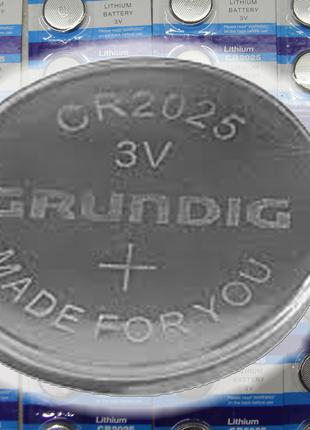 """Батарейки CR2025 """"таблетка"""" 3V Lithium, полный аналог CR2032"""