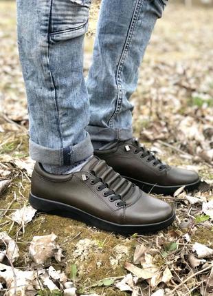 Великі розміри шкіряного чоловічого взуття