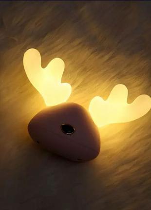 Детский светильник, ночник, лампа с перезаряжаемой батареей