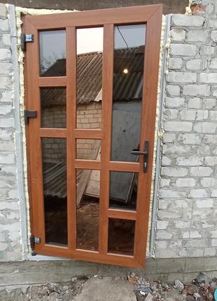 Металлопластиковые двери под заказ
