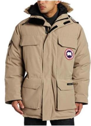 Супертеплая надежная пуховая куртка canada goose arctic collec...