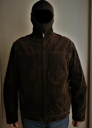 Замшевая куртка marks & spencer