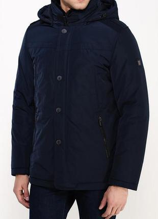 Куртка утеплённая clasna синяя