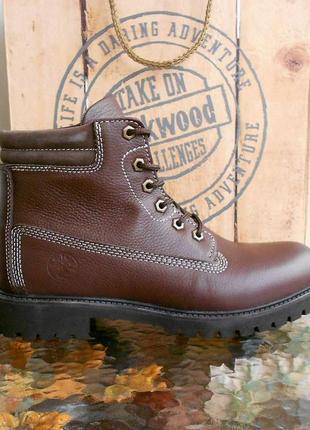 Мужские демисезонные водоотталкивающие ботинки darkwood