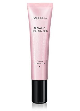 Розовый корректор для лица paint it glam team