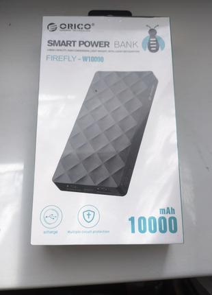 ORICO Универсальный Power Bank Внешний Аккумулятор 10000mA ТОРГ!