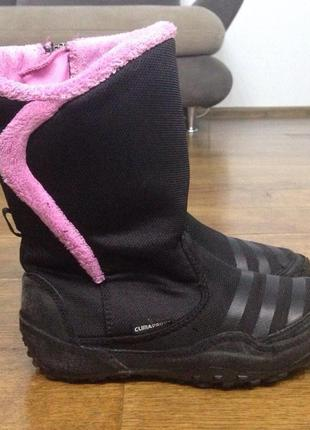 Термоботинки сапоги adidas climaproof зимние р. 31