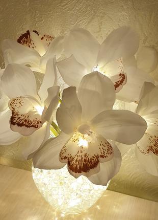 Светящиеся цветы - Орхидея с LED-подсветкой