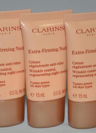 Ночной крем для лица  clarins extra-firming night all skin typ...