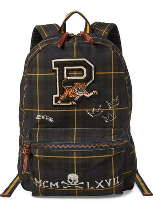 Рюкзак polo ralph lauren black watch backpack, оригинал