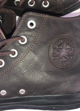 Кроссовки мужские ретро кожаные Converse Большой размер