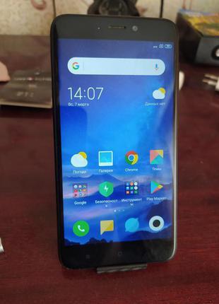 Недорого Xiaomi 4Х (3/32Гб) + новый чехол. Отличное Качествo!