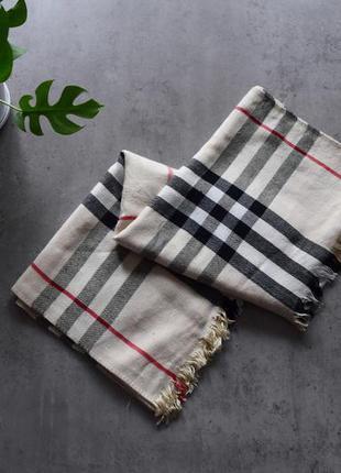 Палантин burberry шарф