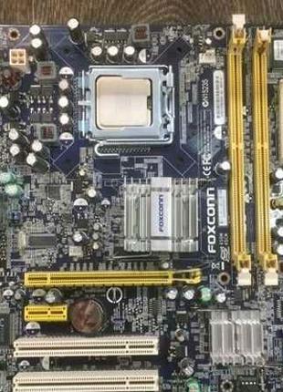 Материнская плата FOXCONN 45CM-S  LGA775 чипсет Intel 945GC / 2x