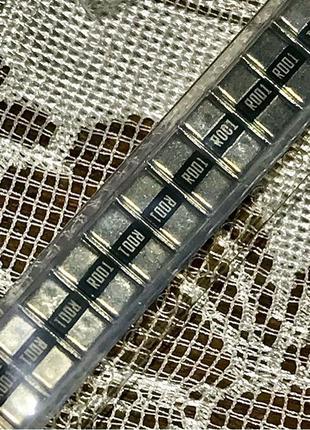 Токовый шунт резистор r001 купить 0.001 Ом 1 мОм миллиом smd 2512